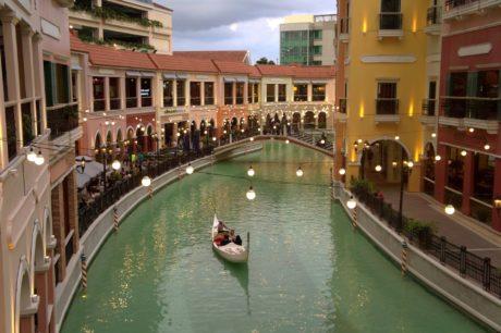 gôndola, Itália, canal, viagens, água, arquitetura, artesanato, navio de