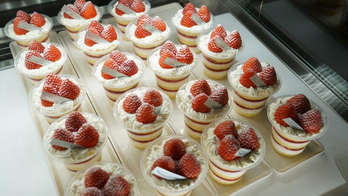 Erdbeere, sehr lecker, süß, Kuchen, Obst, Essen, Beere, Shop