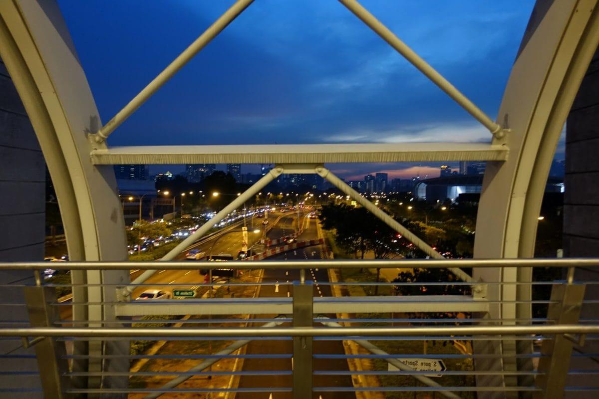 Most, budova, architektura, město, cestování, mrak, městský, světlo