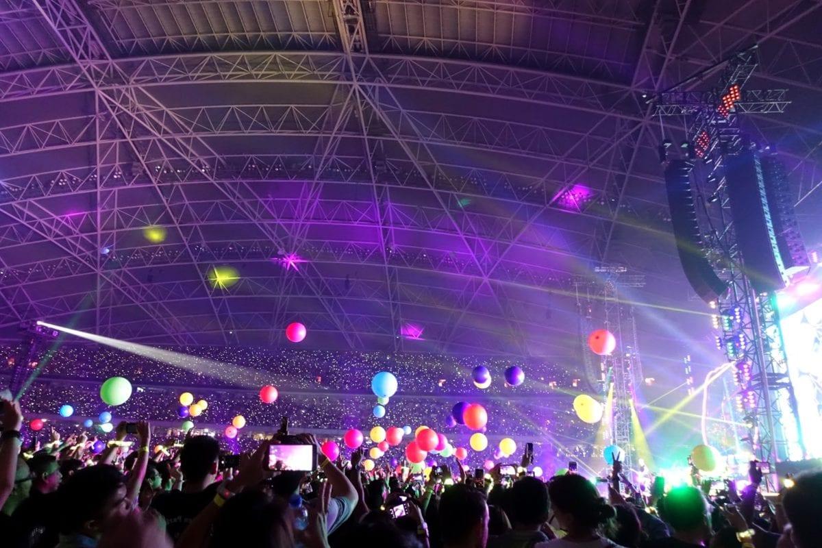 koncertní sál, hudba, Laser, výkon, platforma, fáze, koncert, festival