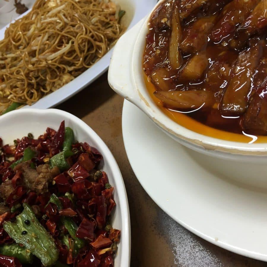 mad, måltid, sauce, frokost, middag, parabol, skål, oksekød