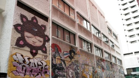 graffiti, architecture, decoration, building, urban, street, city, wall