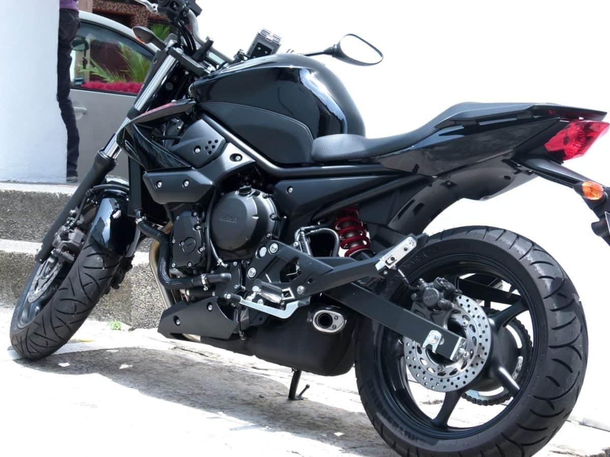luxusní, motorka, motocyklu, Podpora, vozidlo, kolečko, zařízení, sídlo