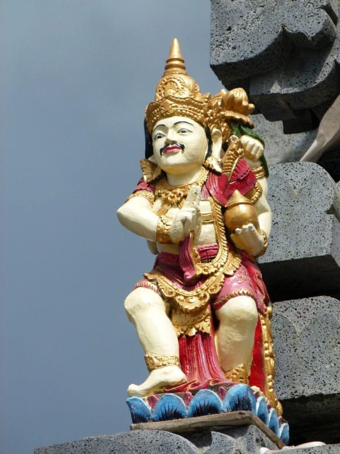 Asie, bohyně, uctívání, socha, náboženství, kultura, chrám, sochařství