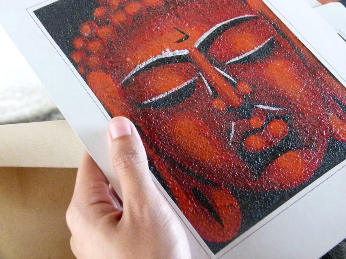 Asia, Schone Kunsten, hand, foto, portret, roodachtig, detailopname, mensen