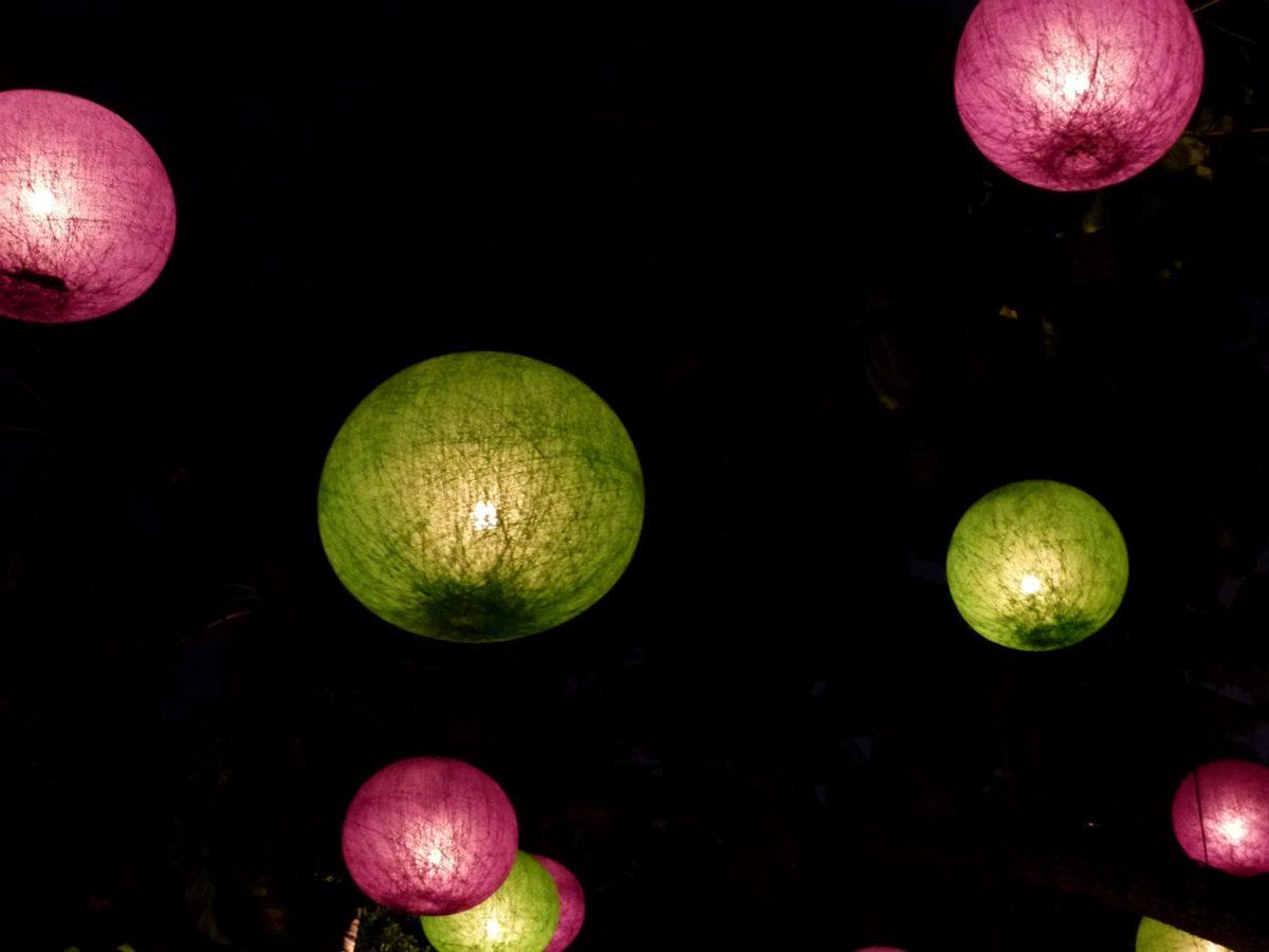 luz de velas, China, colorido, festival, lanterna, noite, natureza, brilhante
