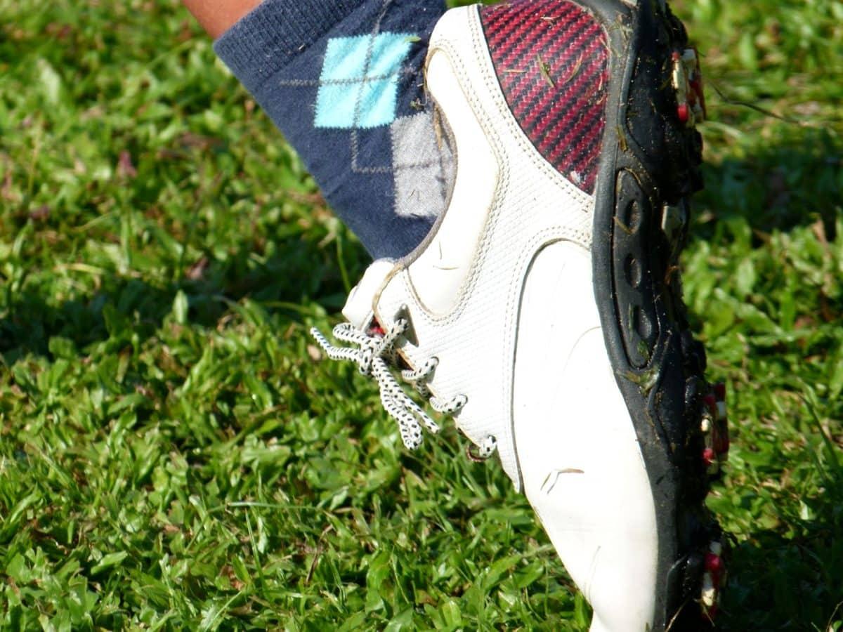 Sepatu, teknik, alam, rumput, musim panas, Taman, di luar rumah, Taman