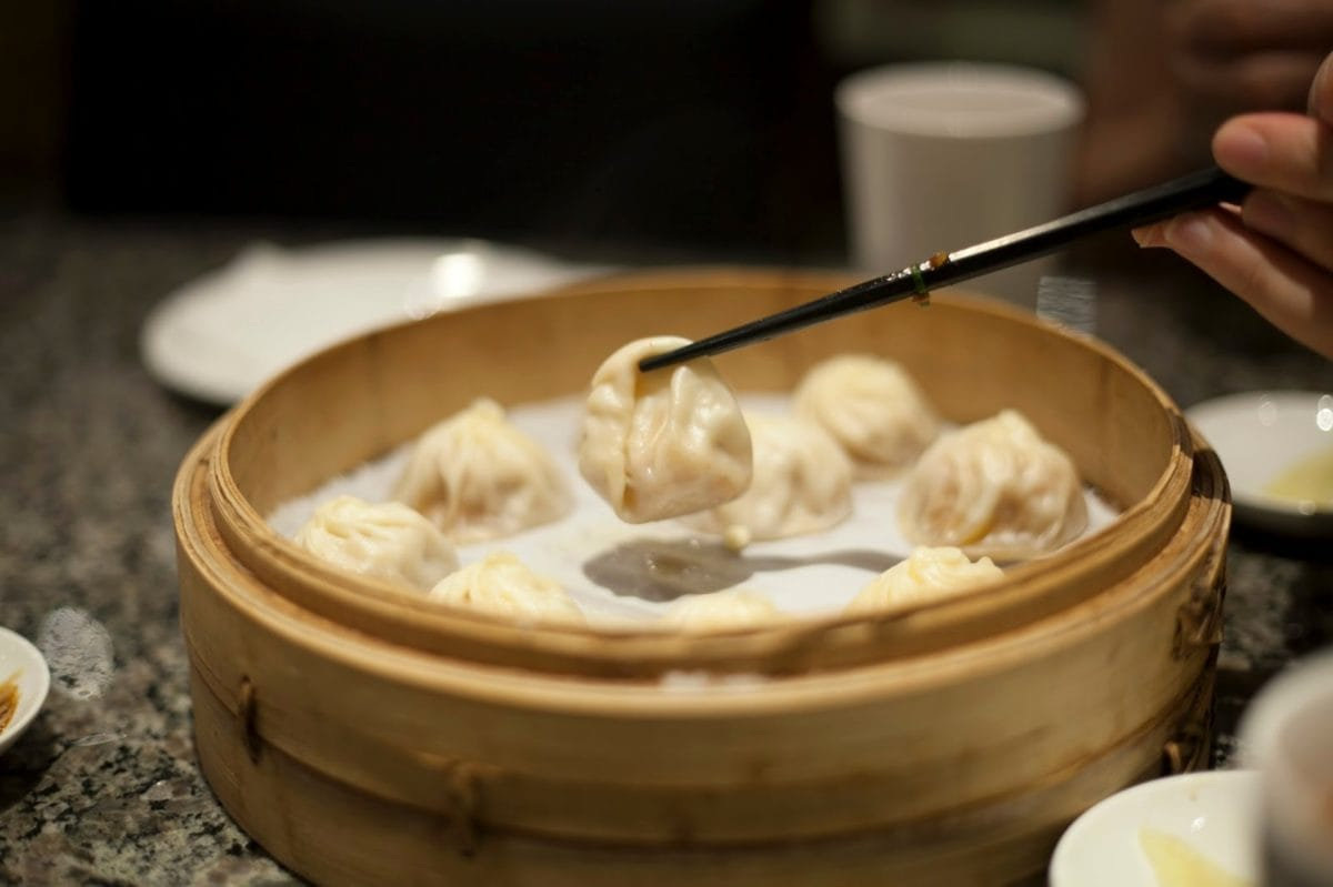 chinese, noodles, yogurt, dish, meal, bowl, food, traditional