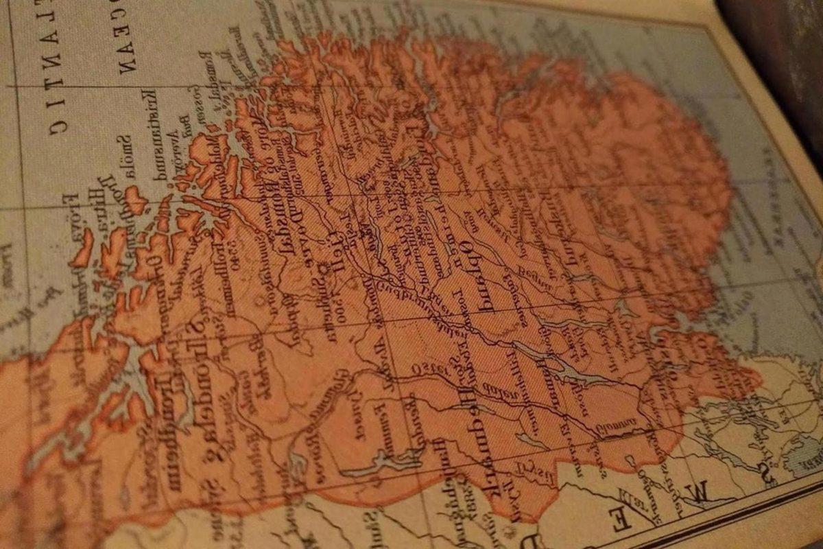 geografi, världen, Atlas, karta, Antik, gamla, läge, resor