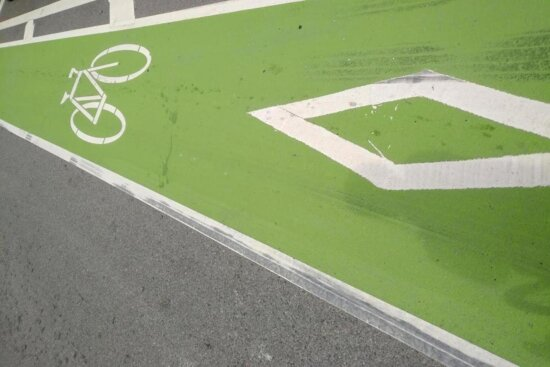 asphalt, green, sign, road, recreation, empty, grass, competition