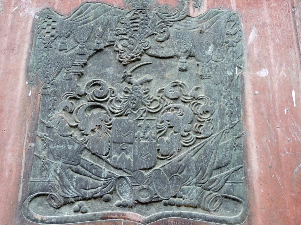 kunst, messing, pronssi, støbejern, Gotisk, spiritualitet, gamle, skulptur
