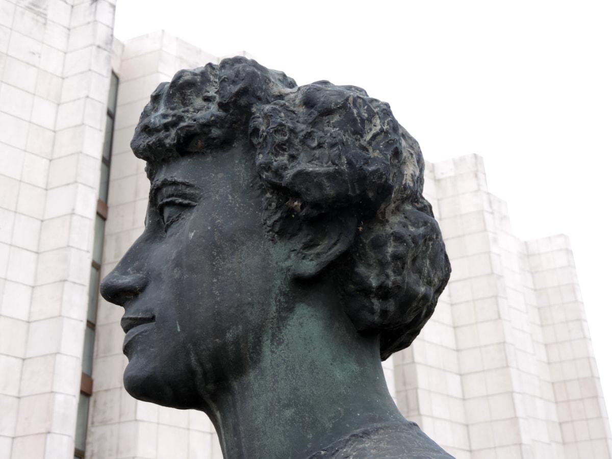 statue, kunst, skulptur, buste, arkitektur, monument, marmor, gamle
