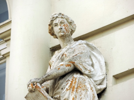 marble, sculpture, art, statue, architecture, traditional, indoors, old