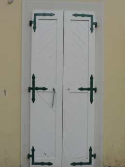 front door, gate, door, fastener, old, doorway, wood, house