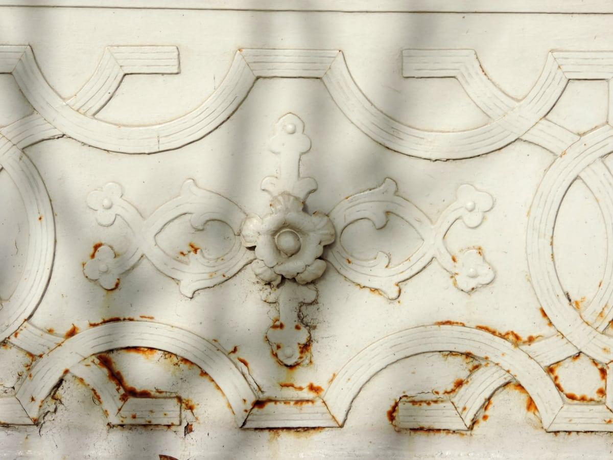 arabeska, umjetnost, lijevano željezo, metal, ukras, hrđe, dizajn, dekoracija