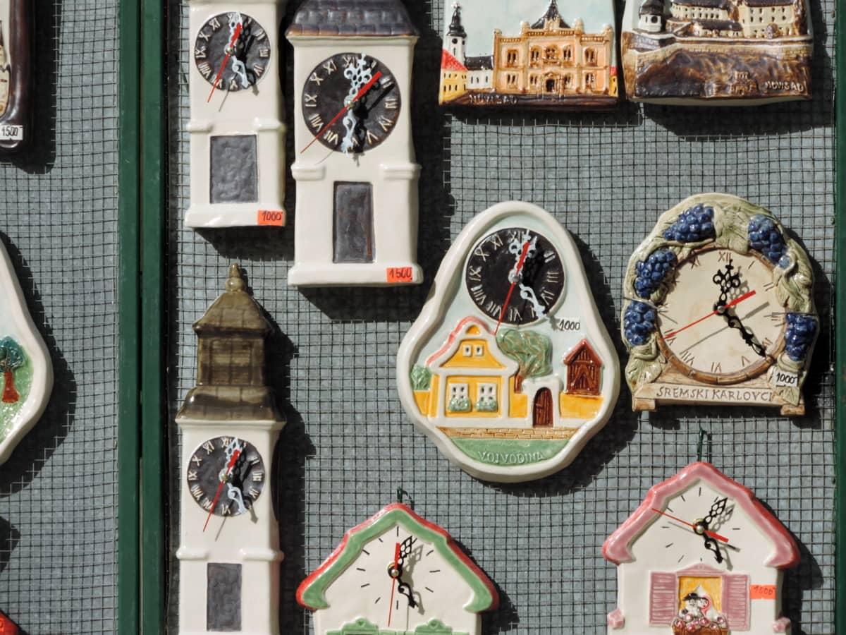 dekoration, objekt, skulptur, turistattraktion, arkitektur, ur, kunst, gamle
