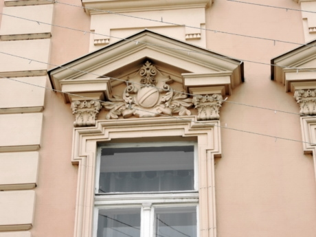 baroque, architecture, building, house, window, wall, outdoors, construction
