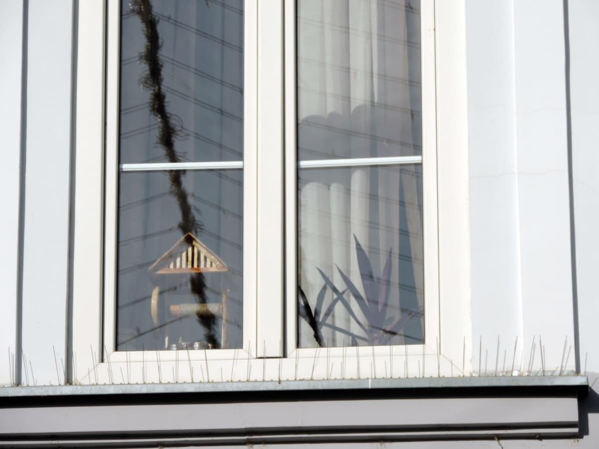 arkitektur, vindueskarm, vindue, hus, indendørs, moderne, værelse, moderne