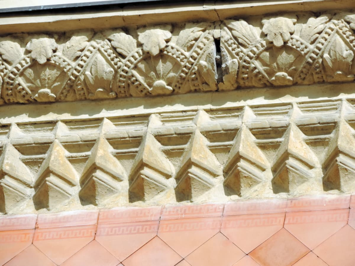 arhitektura, dekoracija, kultura, tradicionalno, umjetnost, uzorak, dizajn, drevno