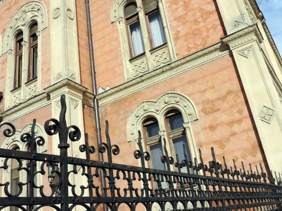 støbejern, gamle, antik, arkitektoniske stil, arkitektur, kunst, balkon, bygning
