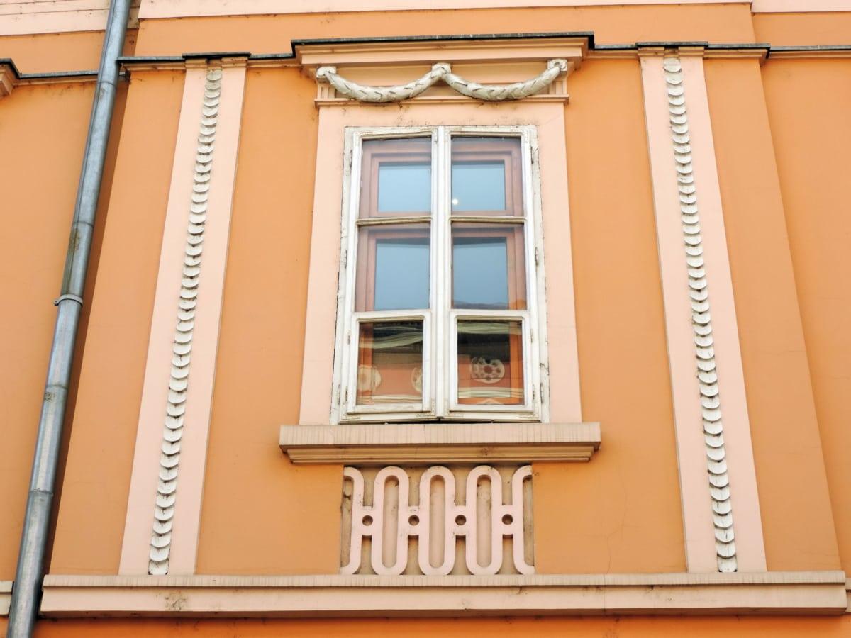 pencere, mimari, Cephe, ev, duvar, Bina, ahşap, kapı