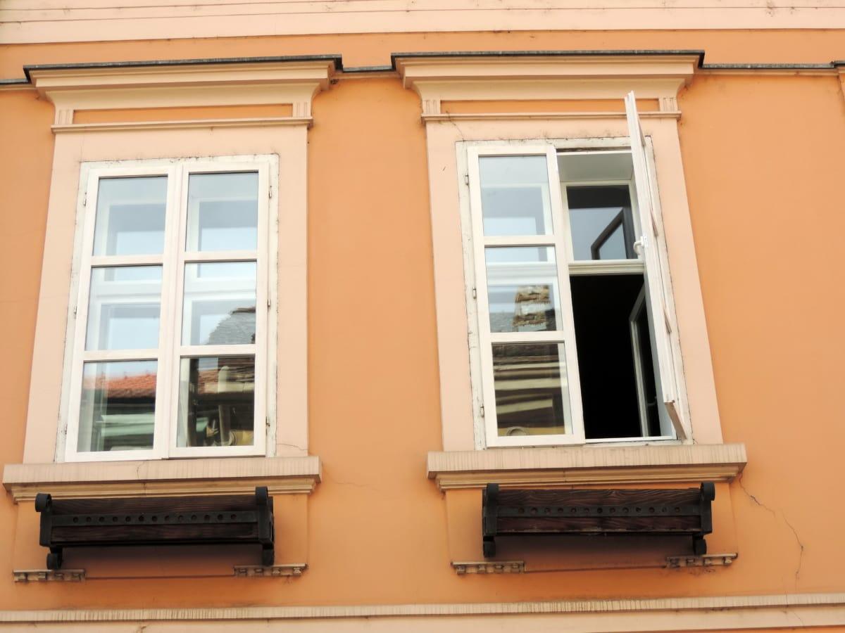 Barok, ev, mimari, pencere, Ana sayfa, ahşap, gün ışığı, açık havada