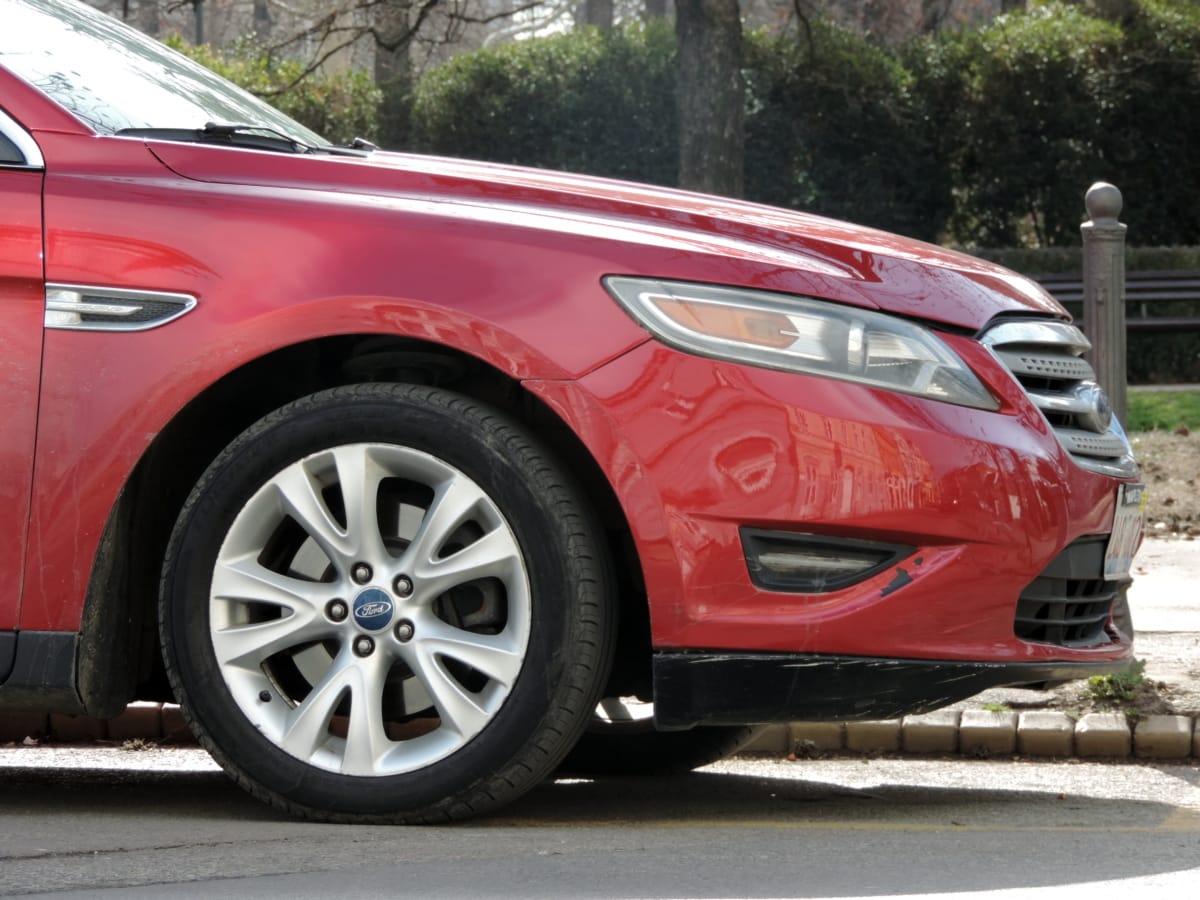 en aluminium, automatique, automobile, coûteux, luxe, rouge, sedan, pare-brise