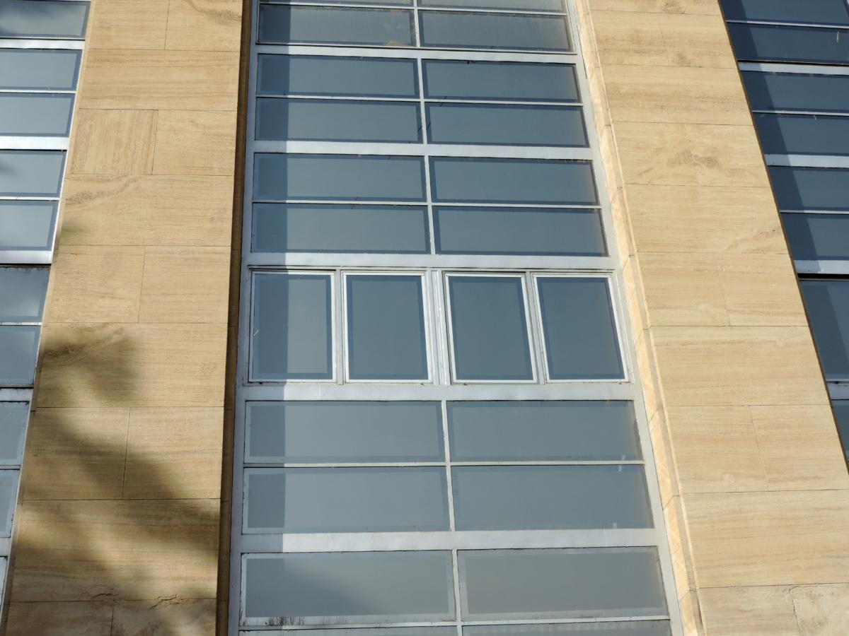 футуристичен, архитектура, устройство, стъкло, сграда, град, съвременен, модерни