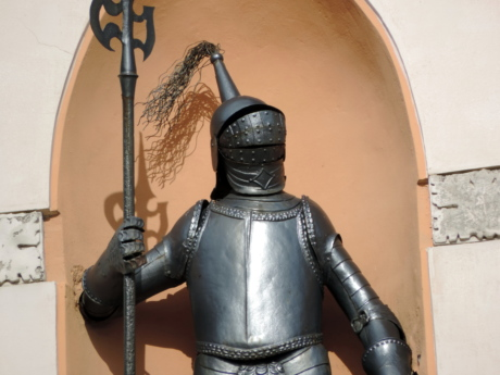 armor, cast iron, handmade, knight, shield, weapon, sword, old