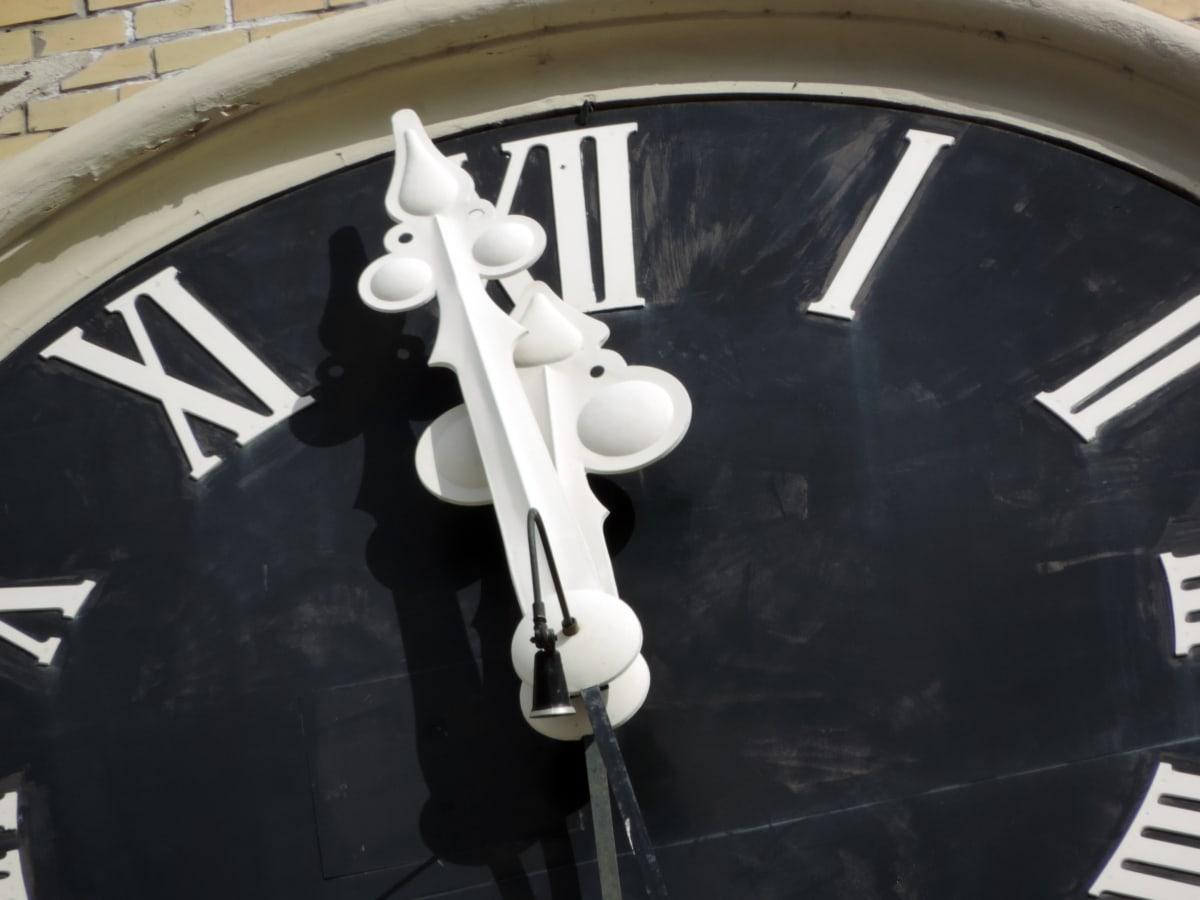 dökme demir, Saat, ayrıntı, açık havada, sokak, teknoloji, eski, Cephe