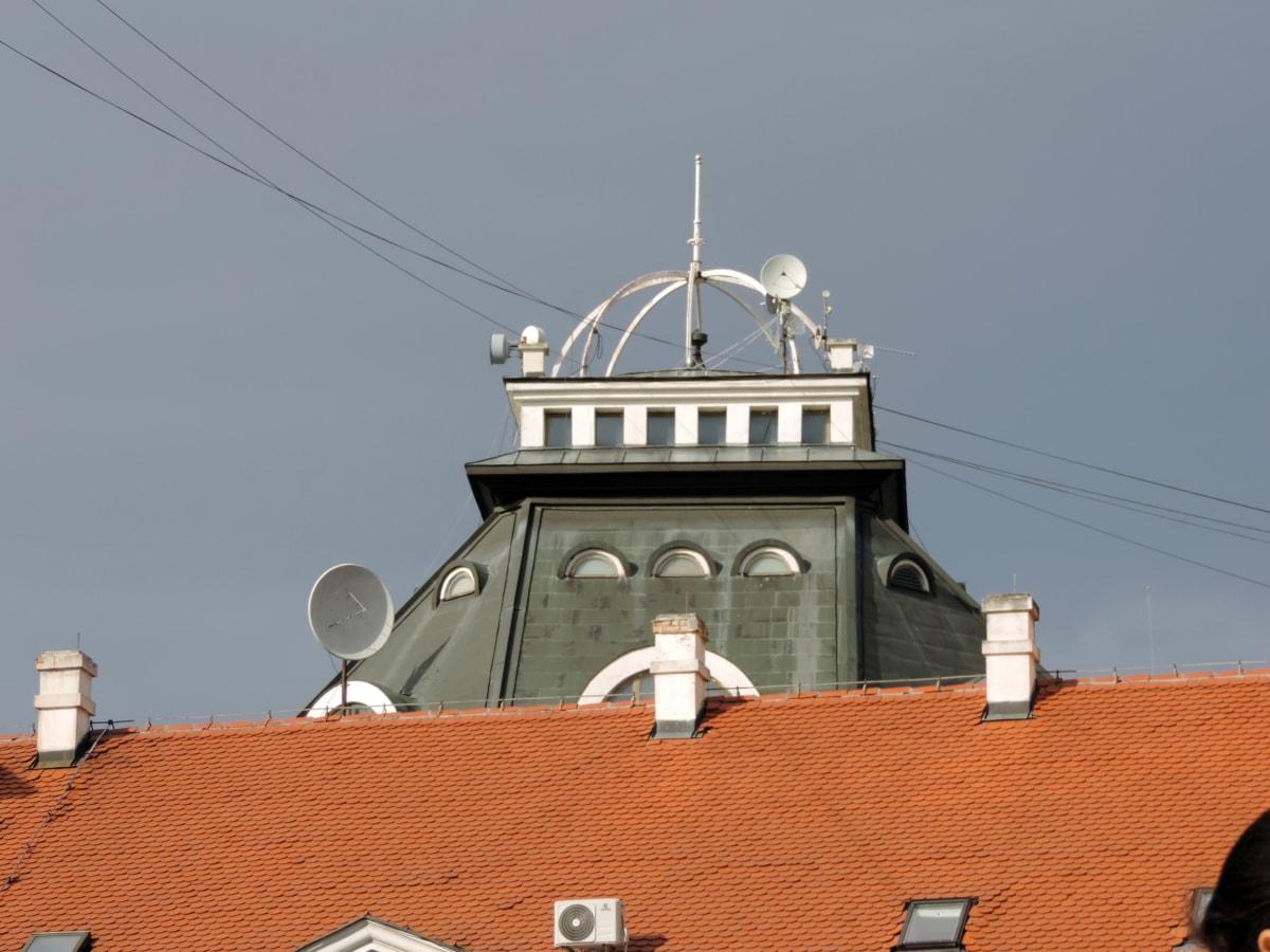 komín, střecha, věž, přístřeší, architektura, Krycí, budova, cestování
