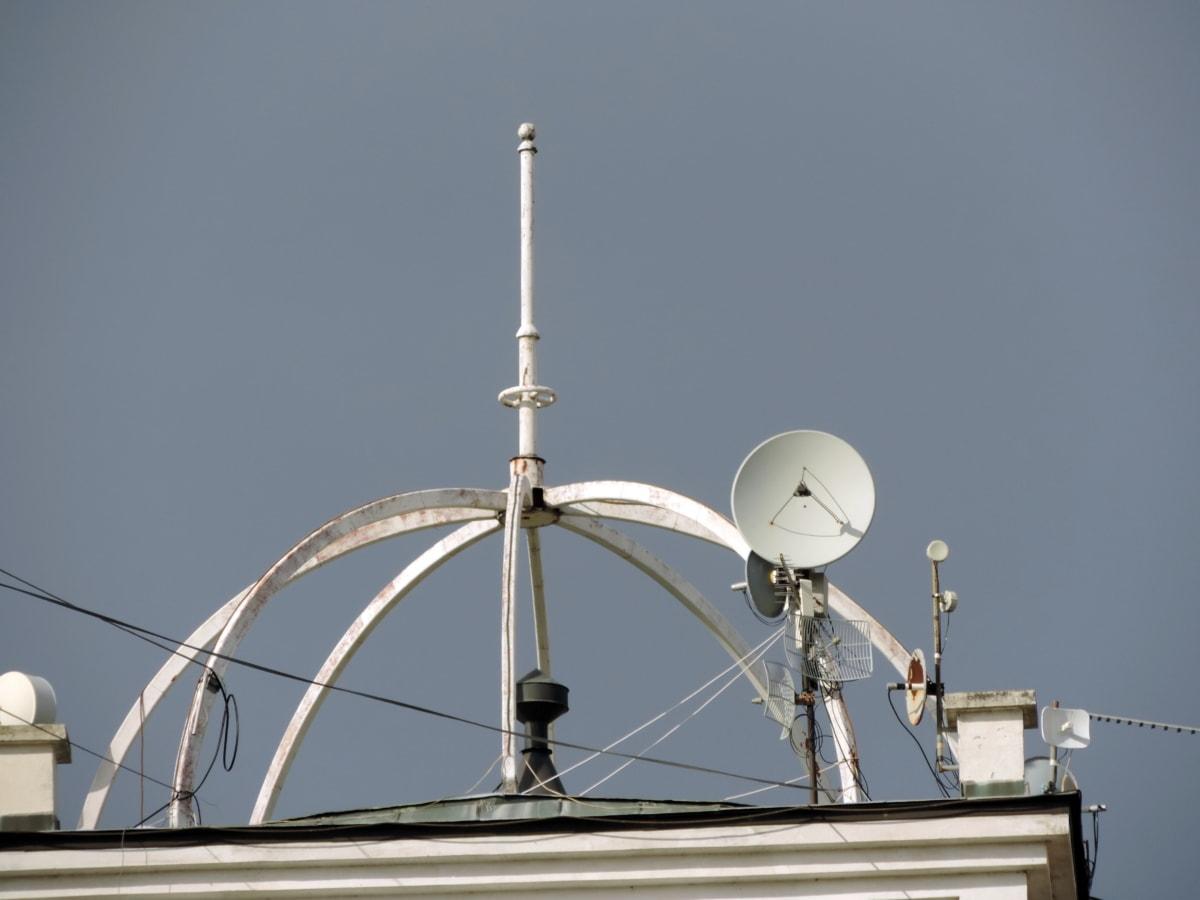 radar, antenă, fără fir, tehnologie, prin satelit, receptor, Turnul, telecomunicatii