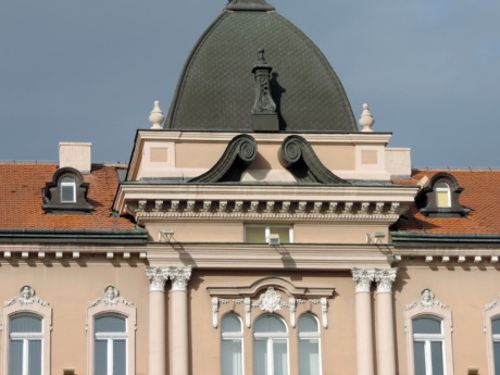baroque, cast iron, colonial, roof, dome, architecture, building, covering