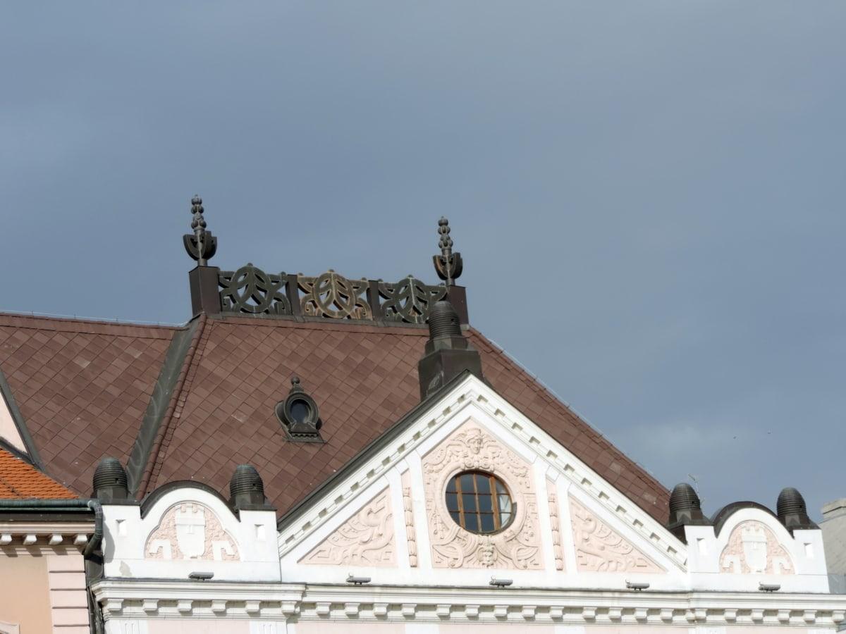 bygge, arkitektur, ly, fasade, reise, taket, gamle, turisme