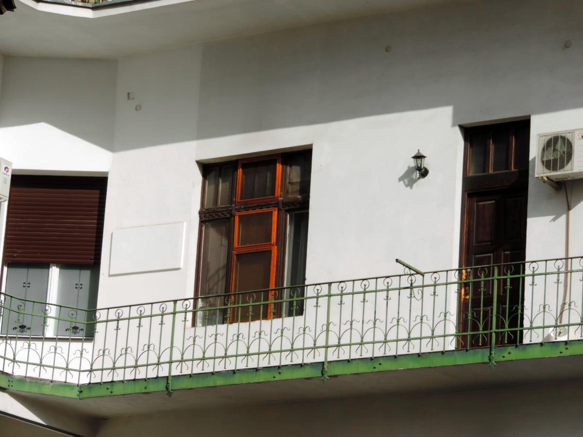 Parveke, talo, arkkitehtuuri, ikkuna, rakentaminen, rakenne, huone, Etusivu