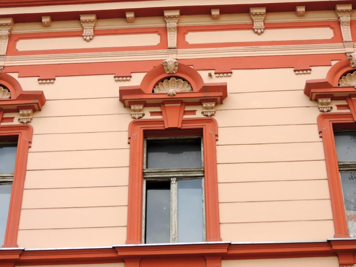 архитектура, Прозорец, фасада, сграда, къща, на открито, стена, Домашно огнище