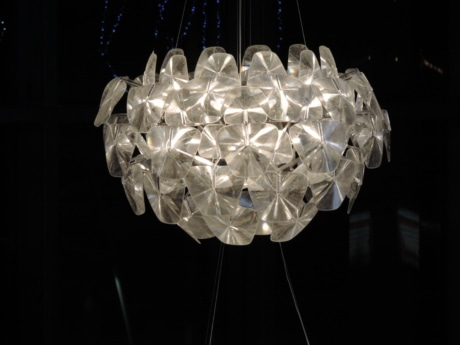 crystal, darkness, luxury, chandelier, lamp, light, shining, illuminated
