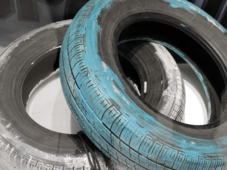blue, decoration, paint, tire, wheel, technology, vehicle, industry