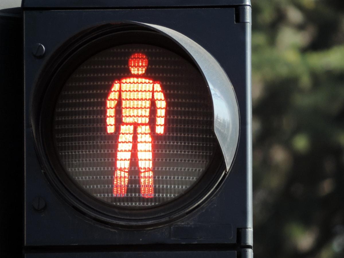 lys, rød, semafor, trafikkontroll, enheten, Advarsel, kontroll, sikkerhet