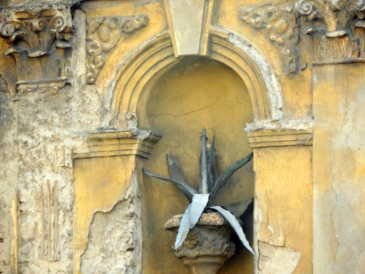 Барок, саксия, разруха, стар, древен, архитектура, Готически, изкуство