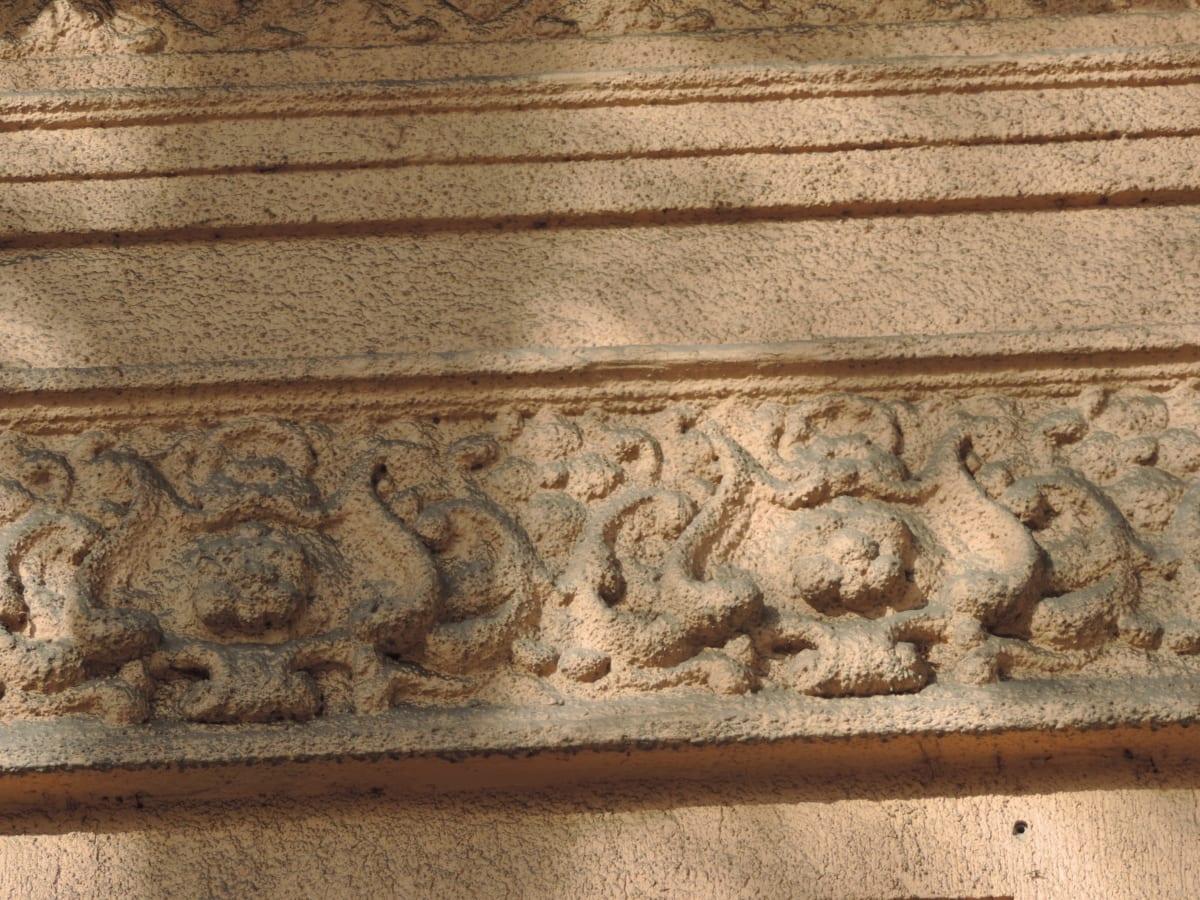 rilievo, copertura, architettura, arte, scultura, vecchio, antica, decorazione