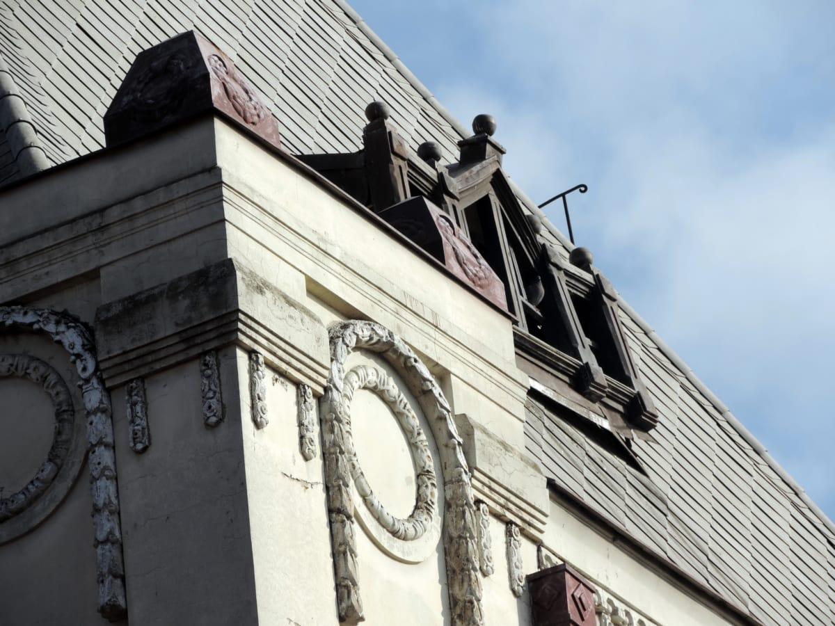 fer de fonte, à la main, médiévale, toit, Création de, architecture, vieux, religion