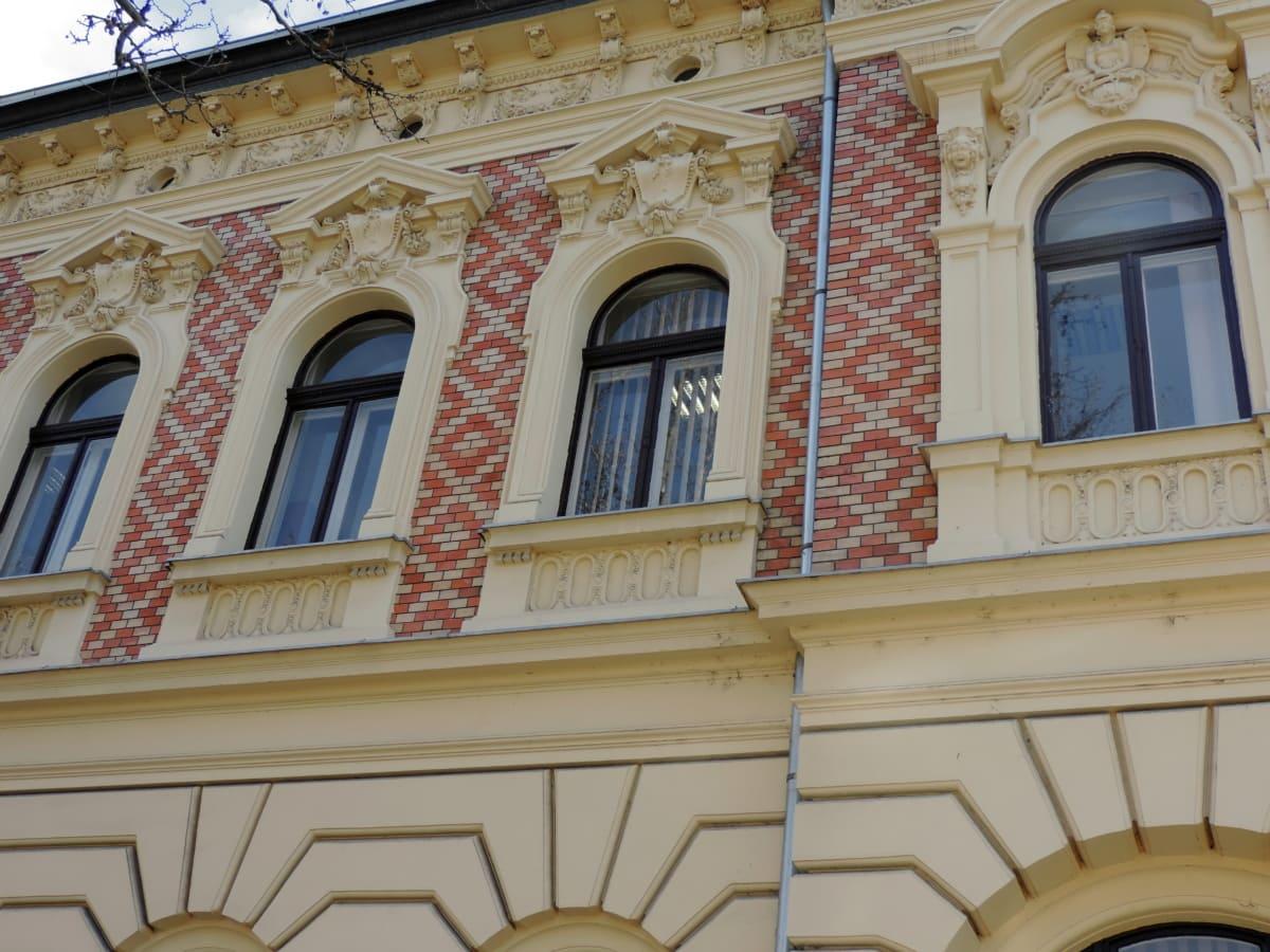 μπαρόκ, Μουσείο, κτίριο, πρόσοψη, αρχιτεκτονική, ταξίδια, παράθυρο, πόλη