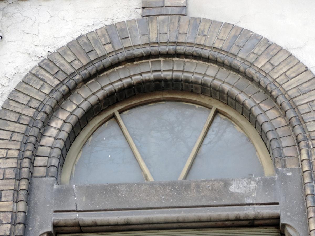łuk, barok, Cegła, gotyk, budynek, architektura, okno, stary