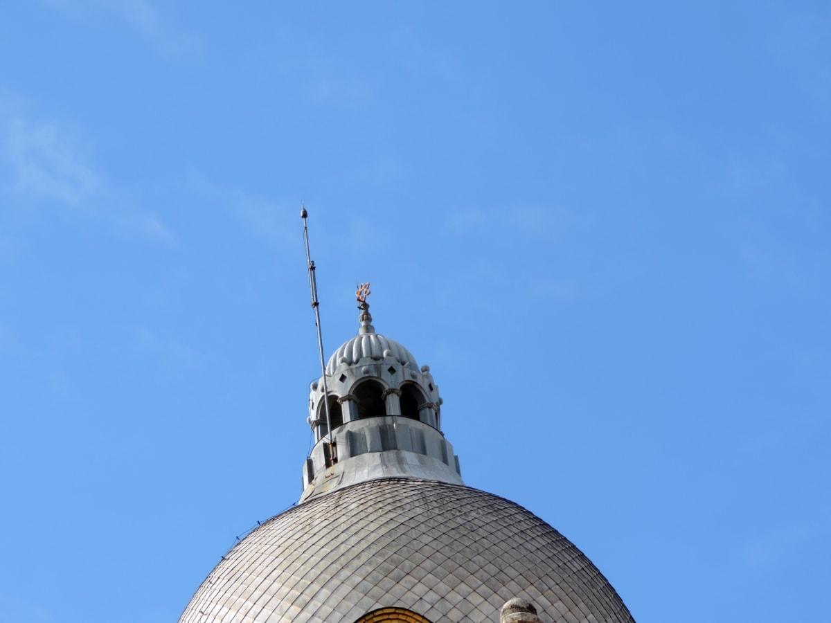 kultura, náboženství, spiritualita, architektura, budova, kopule, střecha, venku