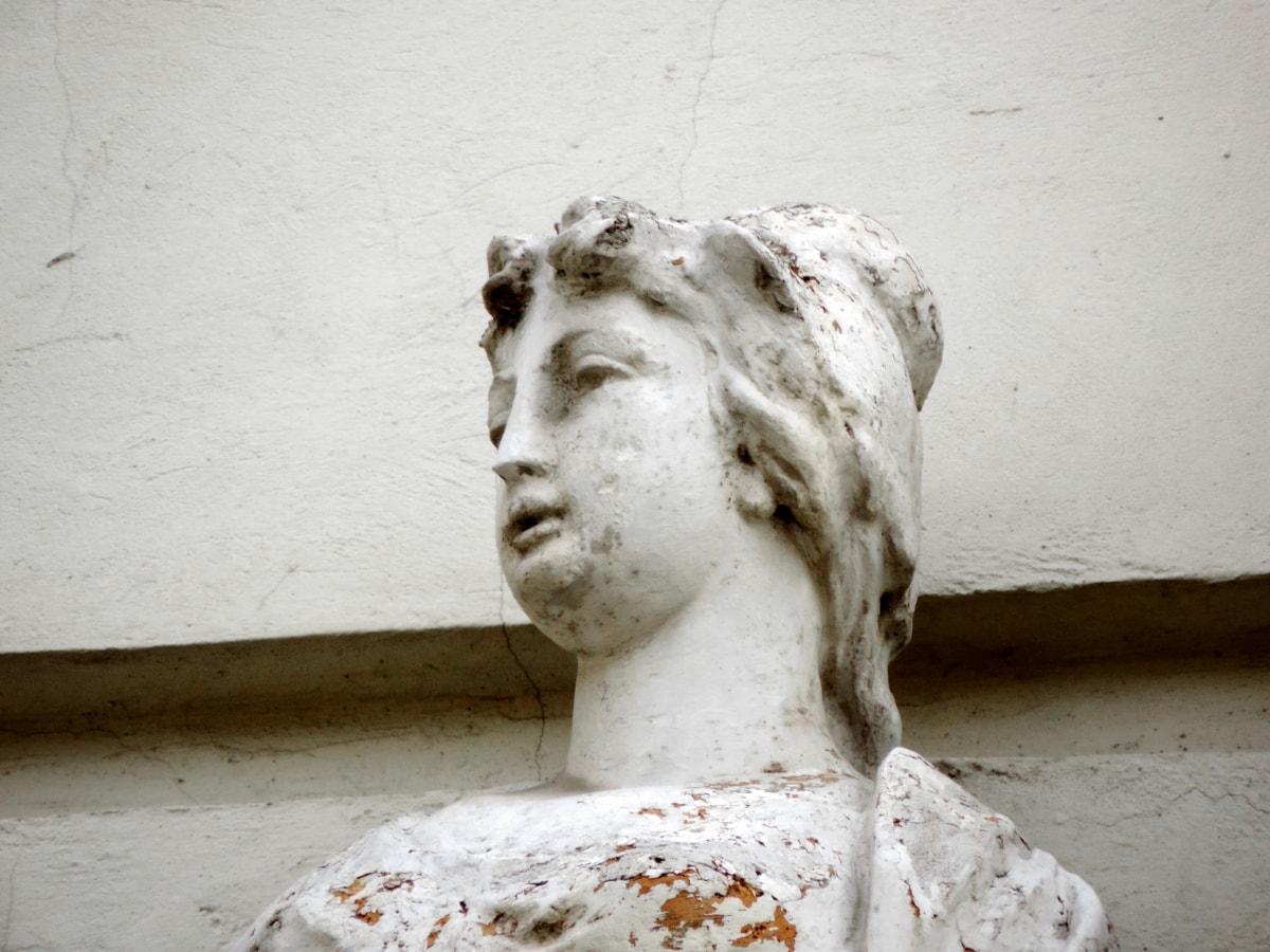 μπαρόκ, προτομή, γλυπτική, άγαλμα, άτομα, πορτρέτο, τέχνη, παλιά