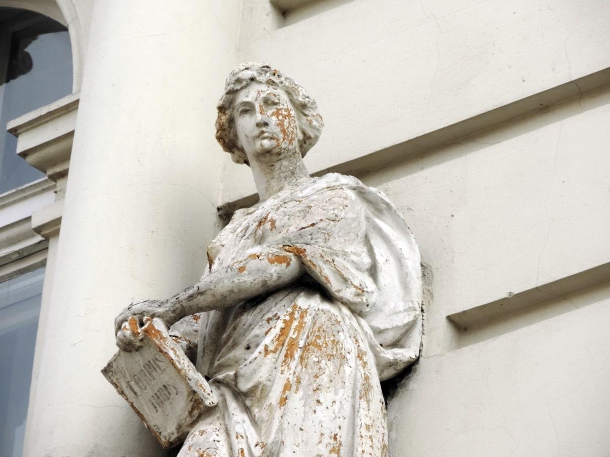 marble, statue, sculpture, religion, art, man, woman, architecture
