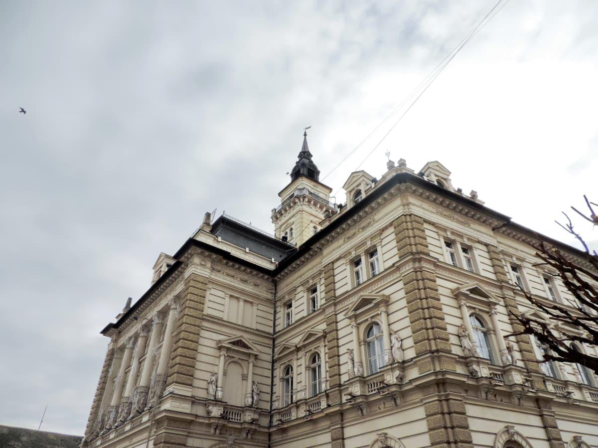 кметството, градски пейзаж, в центъра, забележителност, парламент, къща, дворец, сграда