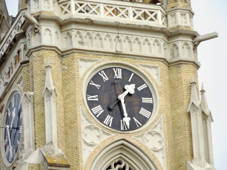 architectural style, baroque, cathedral, catholic, christianity, religious, architecture, analog clock