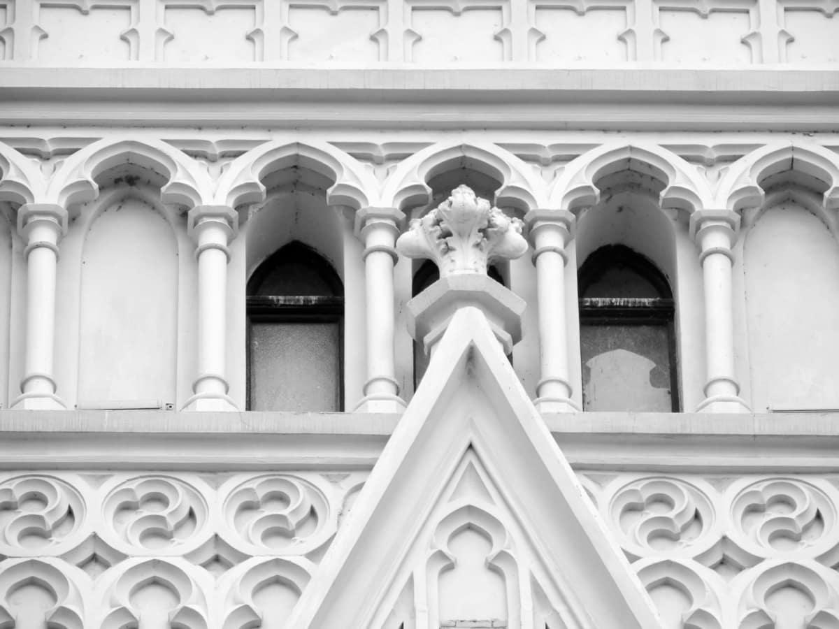 Barok, siyah ve beyaz, miras, tek renkli, din, Katedrali, mimari, Bina